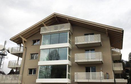 Parapetti e recinzioni in alluminio
