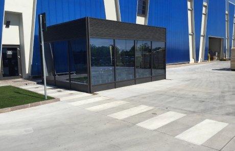Struttura in alluminio e vetro Wintergarden